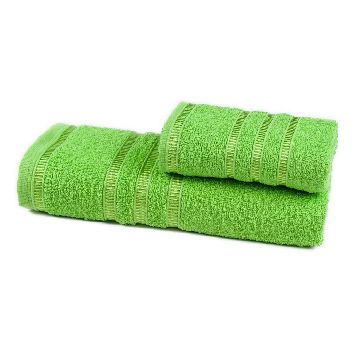 Jogo de Toalhas Banho Hanna 2 peças Verde Claro