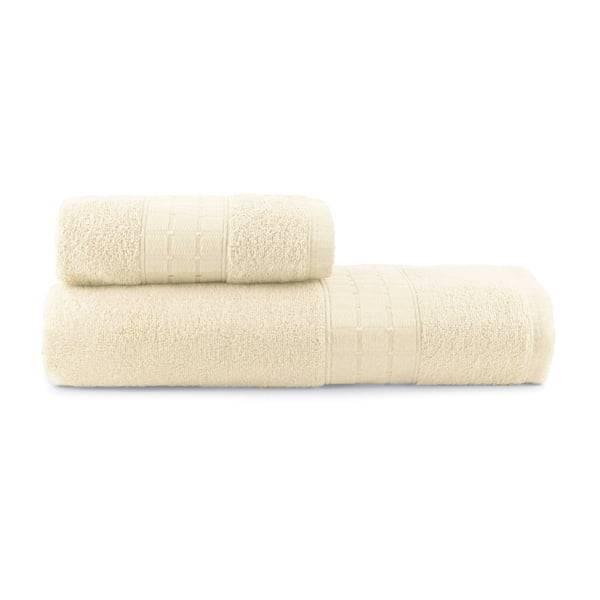 Toalhas de Banho Class Jogo com 2 Peças Off-White - Dianneli