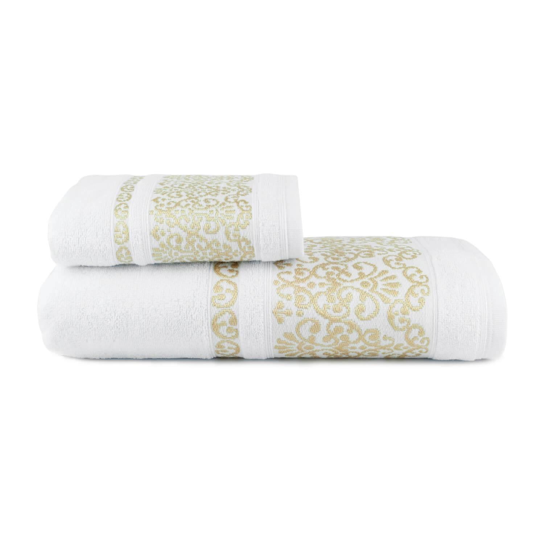 Toalhas de Banho Imperiale Jogo com 2 Peças Branco - Dianneli