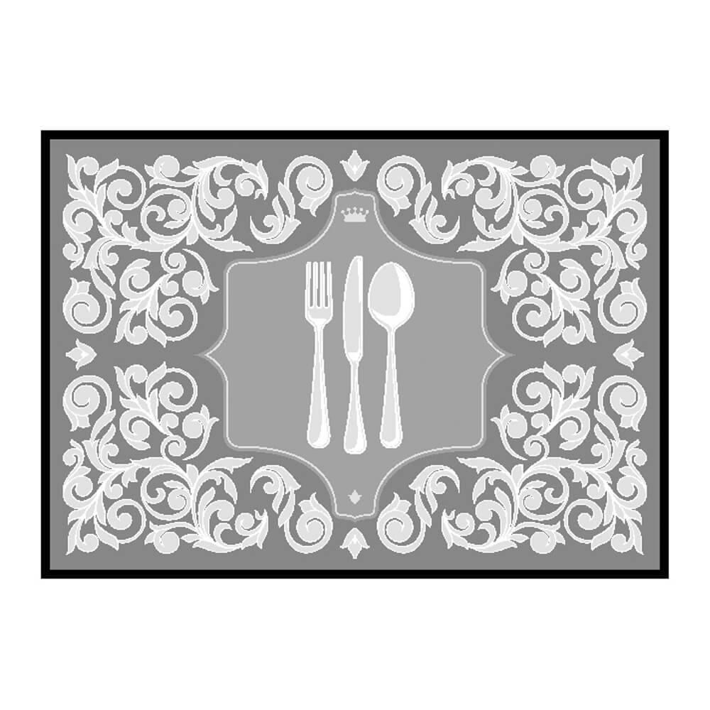 Tapete de Cozinha Grande Posat 50cm x 70cm Decore Antiderrapante - Kacyumara
