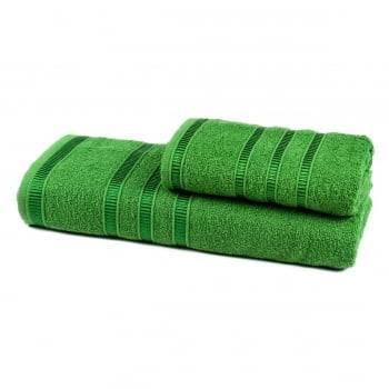 Jogo de Toalhas Banho Hanna 2 peças Verde