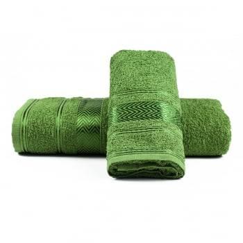 Jogo de Toalhas Banho Luiza Verde