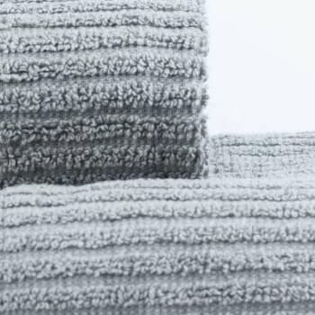 Jogo Toalhas de Banho Cinza 2 Peças Princess 100% algodão - LM