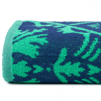 Toalha Banhão Jacquard Romantica 1,50 x 80cm Verde - Atlântica