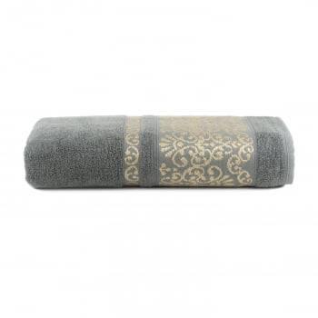 Toalha de Banho Imperiale Cinza - Dianneli