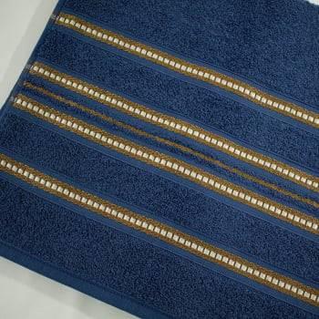 Toalha de Banho Gigante Village 150 x 76 cm - Azul Marinho