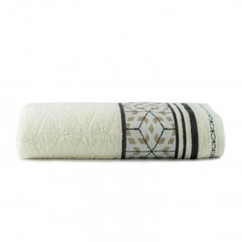 Toalhas de Banho Horus Jogo com 4 Peças Off White - Dianneli