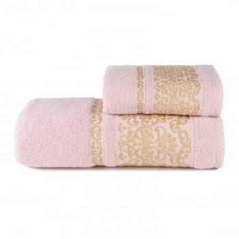 Toalhas de Banho Imperiale Jogo com 2 Peças Rosa - Dianneli