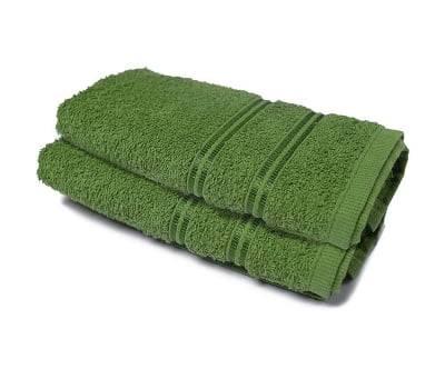 Toalhas de Rosto para Academia 25 cm x 85 cm 2 Peças - Verde