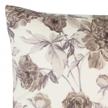 Capa de Almofada Suede Floral Fendi 45cm x 45cm