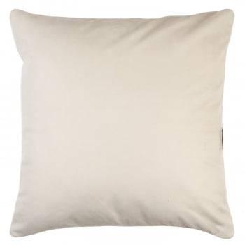 Capa de Almofada Suede Liso Off White 45cm x 45cm