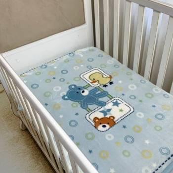 Cobertor Bebê Raschel Diversão Antialérgico - Corttex