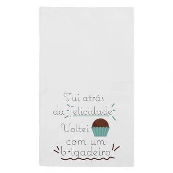 Kit de Pano de Prato Brigadeiro 43 cm x 72 cm 3 Peças