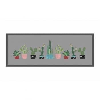 Kit Tapetes Cactus Rei Decore Antiderrapante 1,20 x 45 - Kacyumara