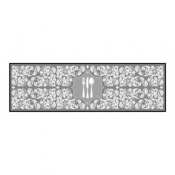 Passadeira Cozinha Posat 50cm x 1,60m Decore Antiderrapante - Kacyumara