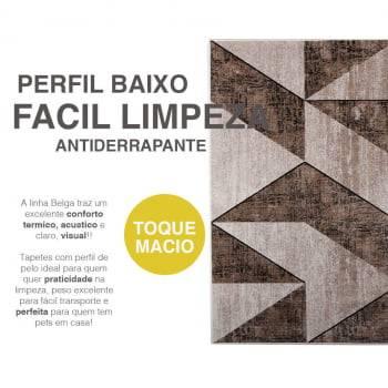 Tapete Passadeira Belga Barcelona Antiderrapante 60 x 1,00m