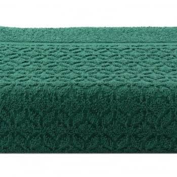 Piso Atoalhado Jacquard  Verde - Dianneli