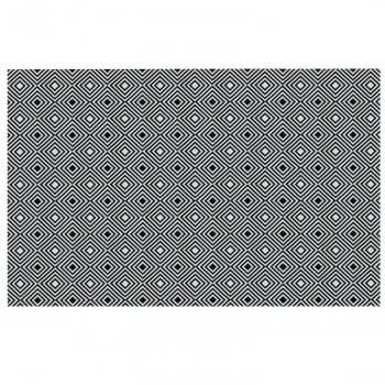 Tapete de Sala Contemporâneo Onix  Antiderrapante 1,50m x 2,50m
