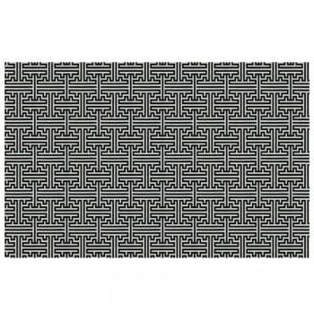 Tapete Pequeno para Sala ou Quarto Quartzo Antiderrapante 1,50m x 1,00m
