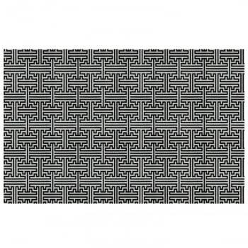 Tapete Pequeno para Sala ou Quarto Quartzo Antiderrapante 1,50m x 1,50m